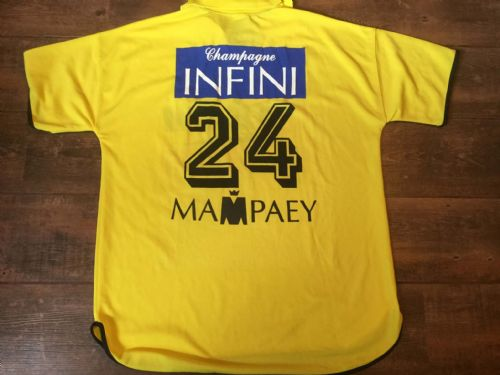 2002 2003 KSC Lokeren Match Issue Away #24 Football Shirt Adults XL